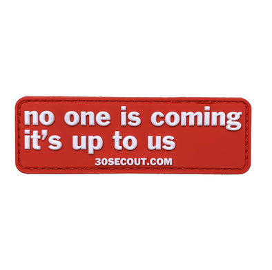 Morale Patch - No One Is Coming