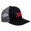Hat - Embroidered Logo Mesh Snapback