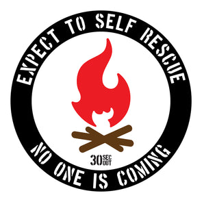 Sticker- Expect To Self Rescue