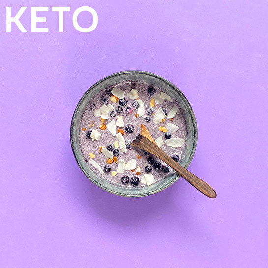 KETO ACAI BERRY GLOW Superfood Breakfast Pouches