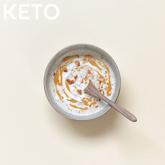 KETO SALTED CARAMEL PROTEIN Superfood Breakfast Pouches