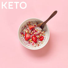 Load image into Gallery viewer, KETO STRAWBERRY IMMUNITY Superfood Breakfast Pouches