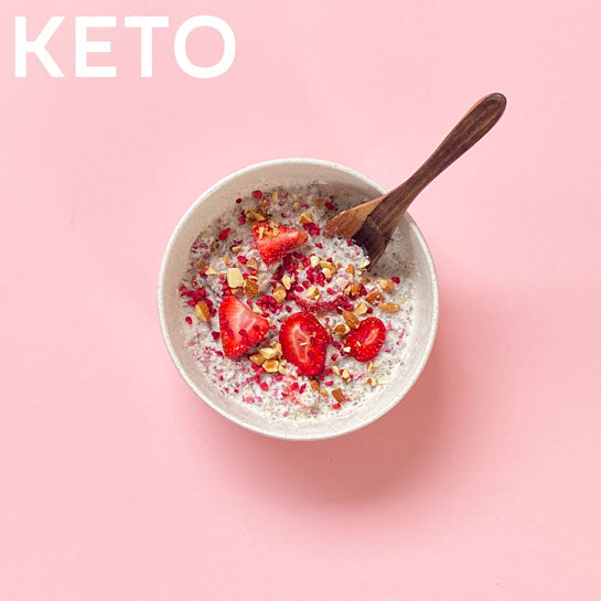 KETO STRAWBERRY IMMUNITY Superfood Breakfast Pouches