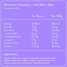 Load image into Gallery viewer, ACAI BERRY GLOW Superfood Breakfast Pouches