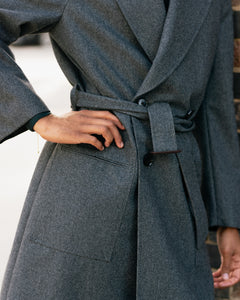 Grey Raglan Showerproof Coat