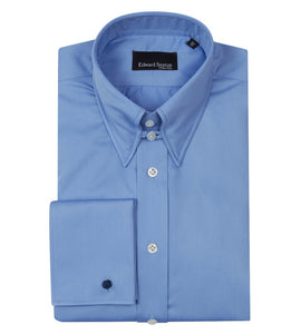 Made to Order French Blue Shirt