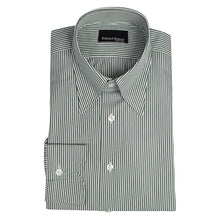 Load image into Gallery viewer, Made to Order Forest Green Bengal Stripe Shirt
