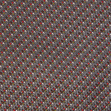 Load image into Gallery viewer, Grey Pixel Silk Tie