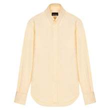 Load image into Gallery viewer, Yellow Cotton Tab Collar Shirt