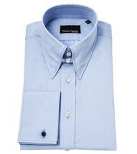 Load image into Gallery viewer, Powder Blue Tab Collar Regular-Fit Shirt