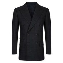 Load image into Gallery viewer, Green Check Double Breasted Blazer
