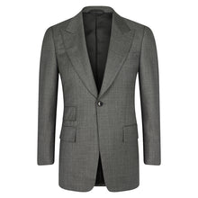 Load image into Gallery viewer, Grey Single Breasted Jacket