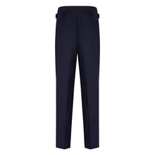 Load image into Gallery viewer, Navy Worsted Contemporary Suit Trousers
