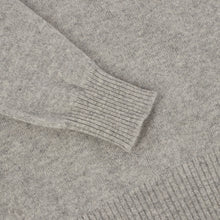 Load image into Gallery viewer, Grey Cashmere Crewneck