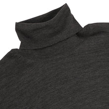 Load image into Gallery viewer, Charcoal Merino roll neck