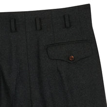 Load image into Gallery viewer, Olive Flannel Hollywood Trousers