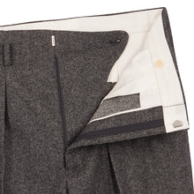 Load image into Gallery viewer, Mottled Charcoal Grey Hollywood Trousers