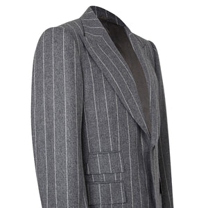 Grey Flannel Chalkstripe Jacket