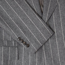Load image into Gallery viewer, Grey Flannel Chalkstripe Jacket