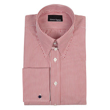 Load image into Gallery viewer, Crimson Bengal Tab Collar Silm-Fit Shirt