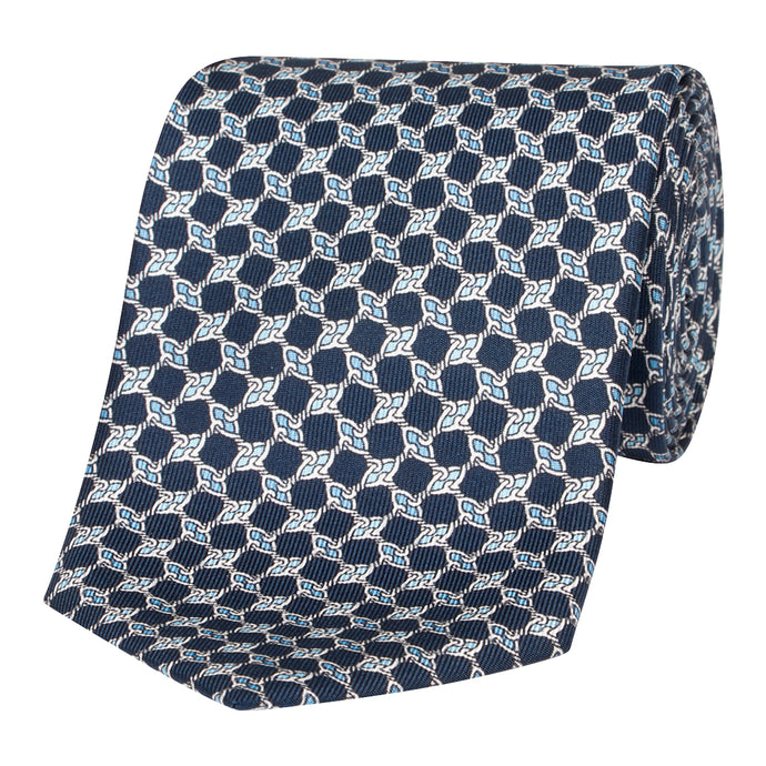 Midnight Knot Silk Tie