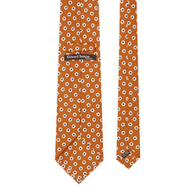 Load image into Gallery viewer, Orange Spot Tie