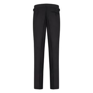 Black Contemporary Dress Trousers