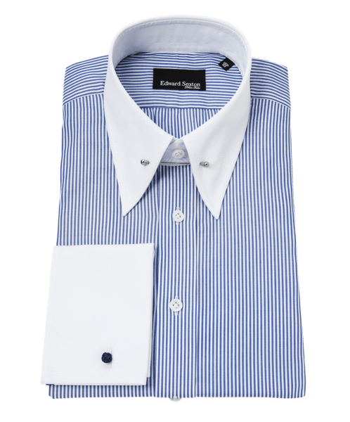 Made to Order Blue Bengal Stripe Shirt