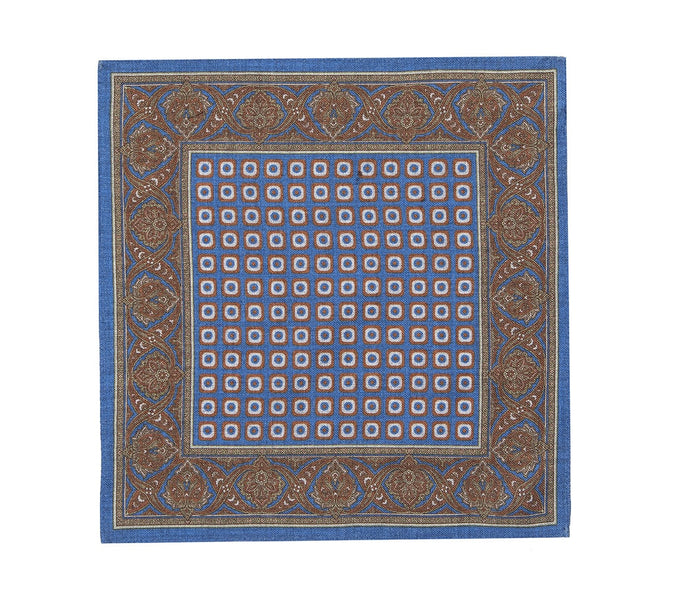 blue_rust_silver_pocket_square