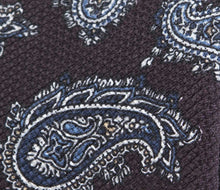 Load image into Gallery viewer, burgundy_textured_paisley_tie