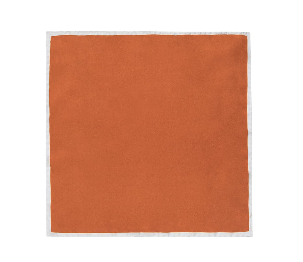 burnt_orange_shoelace_pocket_square