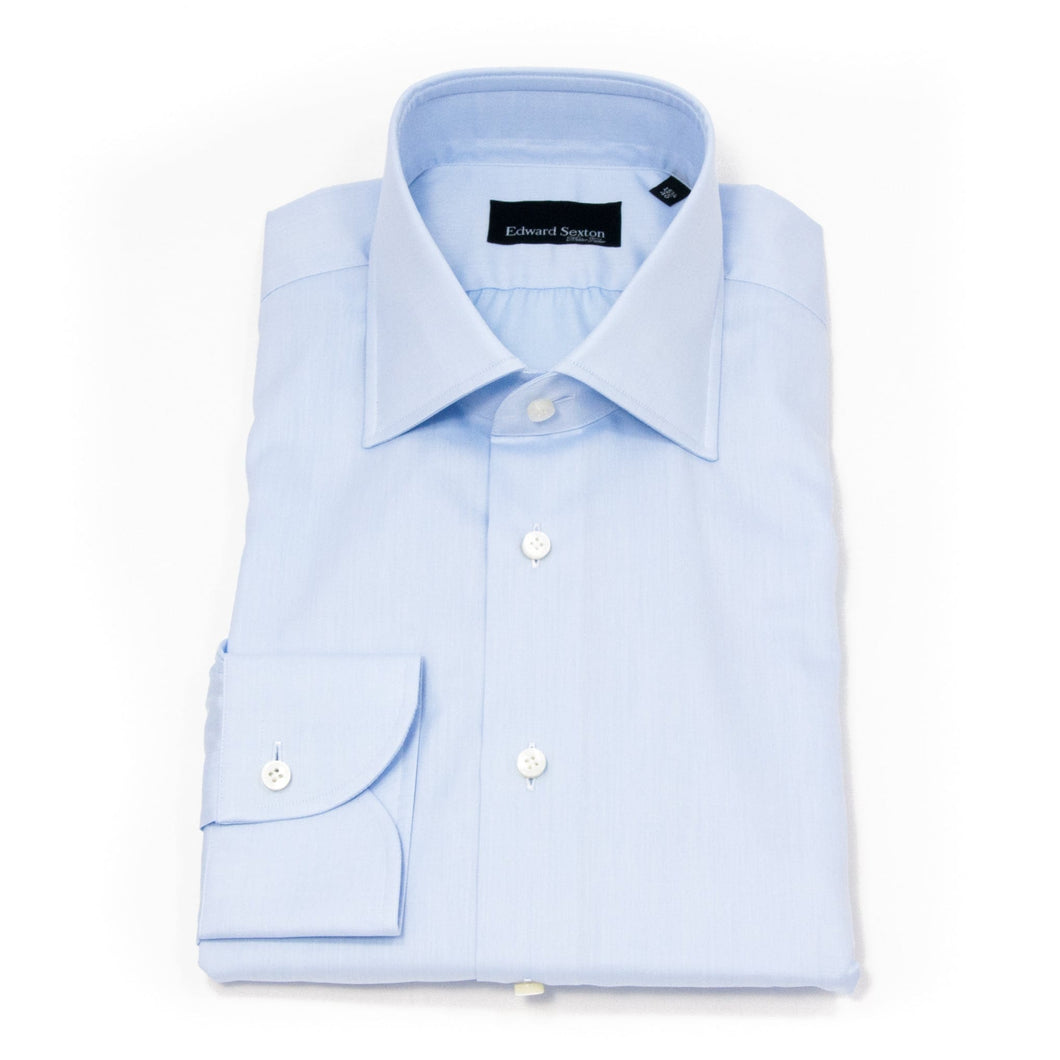 Powder blue slim fit shirt