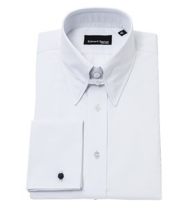white-tab-collar-shirt