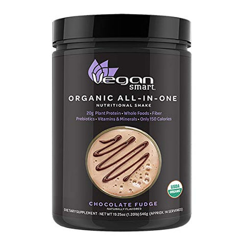 Plant Based Organic Protein Powder - Chocolate Fudge