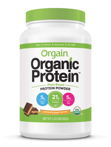 Orgain Organic Plant Based Protein Powder - Chocolate Peanut Butter