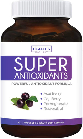 Super Antioxidant Supplement - Fruit Formula - 60 Count