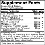 Super Antioxidant Supplement - Berry Blend - 60 Count