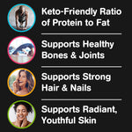 Orgain Keto Collagen Protein Powder with MCT Oil - Chocolate