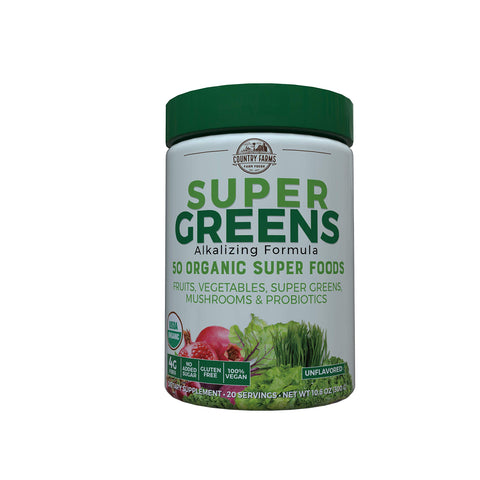 Country Farms Super Greens Drink Mix