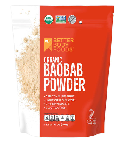 Organic Baobab Powder - 6 oz