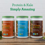 Amazing Grass Vegan Protein & Kale Powder - Honey Roasted Peanut