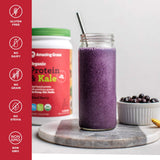 Amazing Grass Vegan Protein & Kale Powder - Mixed Berry