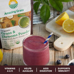 Amazing Grass Smoothie Powder- Greens & Shrooms