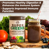 Country Farms Super Greens Drink Mix - Chocolate