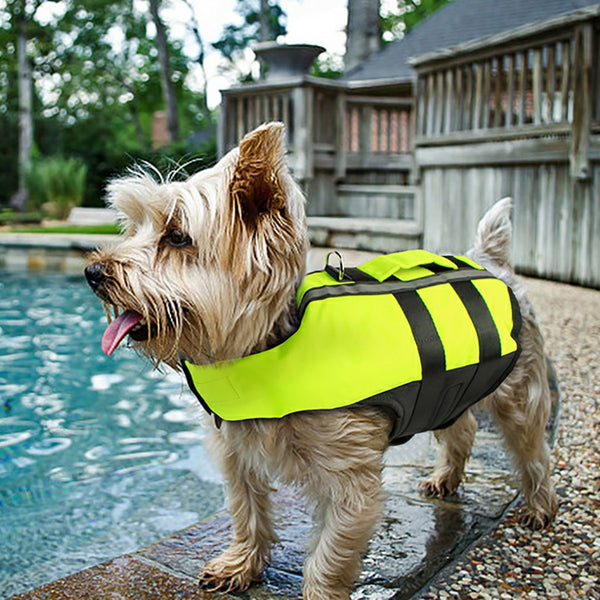 Pet Dog Life Jacket Safety Clothes Life Vest Swimming Clothes Summer Swimwear GN
