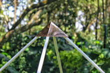 Load image into Gallery viewer, Giza Aluminium Meditation Pyramid 6 feet lite wight
