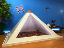 画像をギャラリービューアに読み込む, PVC Giza heavy duty 6 feet base Meditation Pyramid for Self Healing