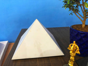 PVC Giza heavy duty 6 feet base Meditation Pyramid for Self Healing