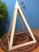 Load image into Gallery viewer, PVC Nubian 3 feet base Meditation Pyramid for spiritual Healing