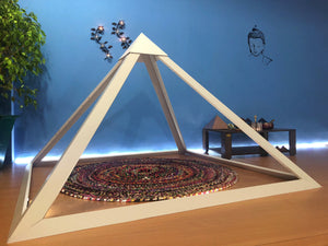 PVC Giza 6 feet base Meditation Pyramid for spiritual Healing